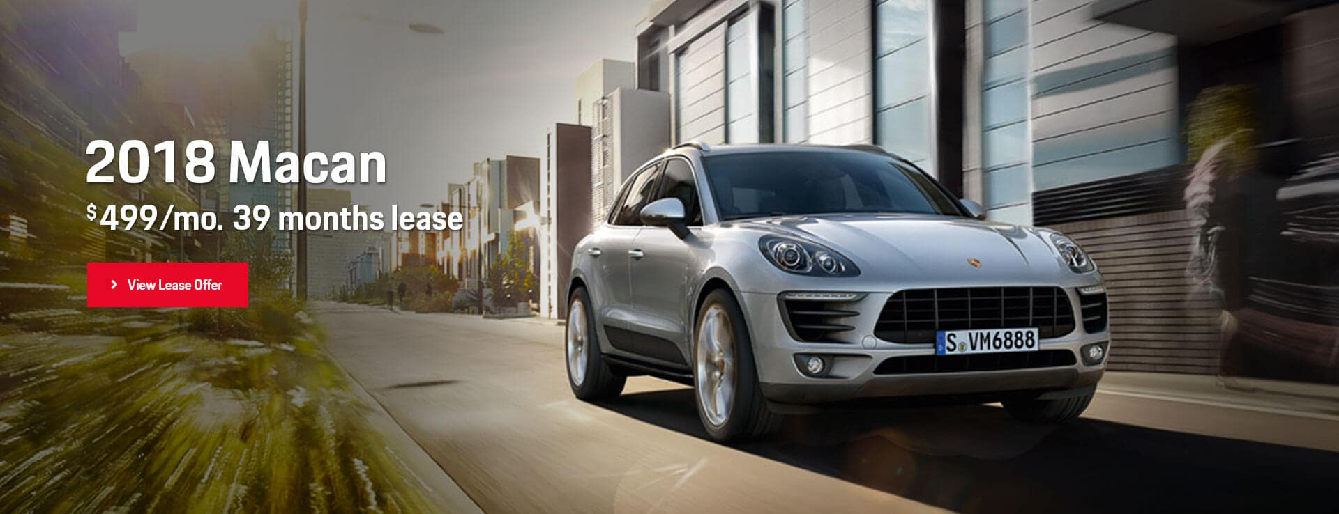 Porsche Macan Lease Offer Hero