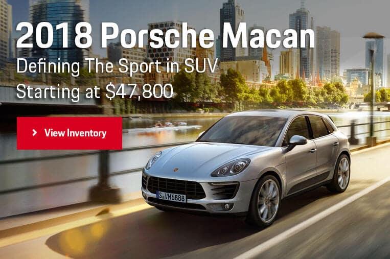 2018 Porsche Macan Hero