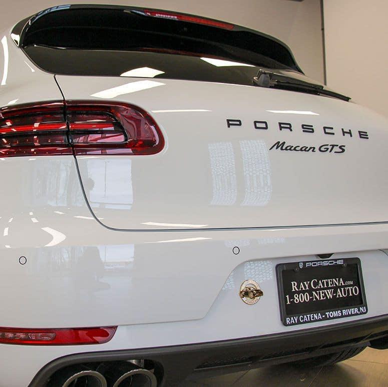 2018 Porsche Macan Back