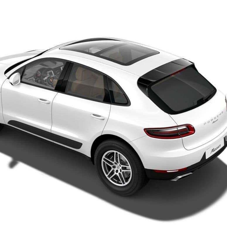 2018 Porsche Macan Top Angle