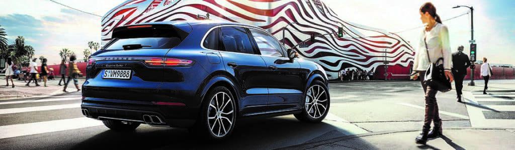 Porsche SUV near Brick NJ