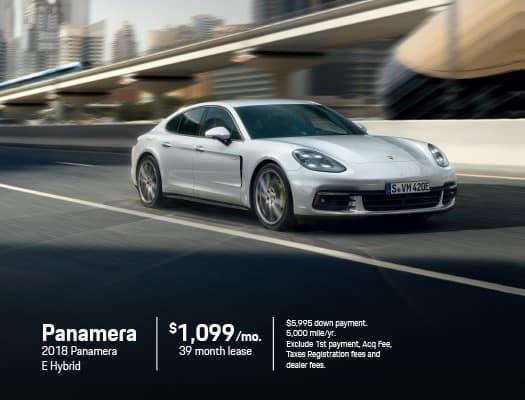 New 2018 Porsche Panamera E Hybrid