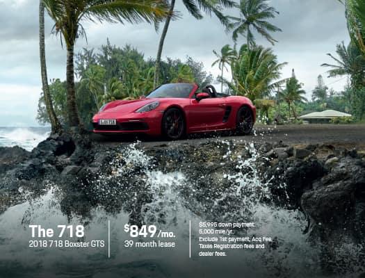 New 2018 Porsche 718 Boxster S RWD 2D Convertible