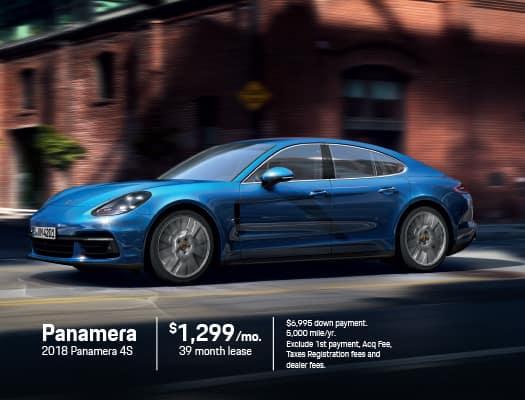 New 2018 Porsche Panamera 4S AWD
