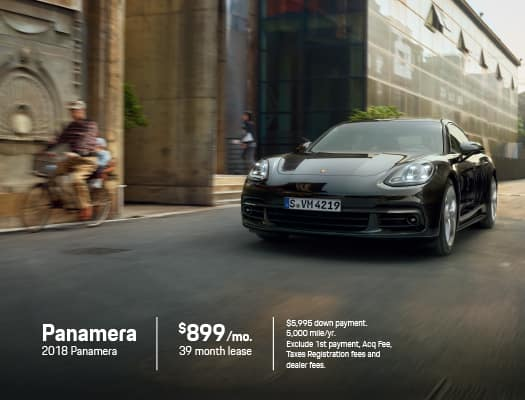New 2018 Porsche Panamera RWD 4D Hatchback
