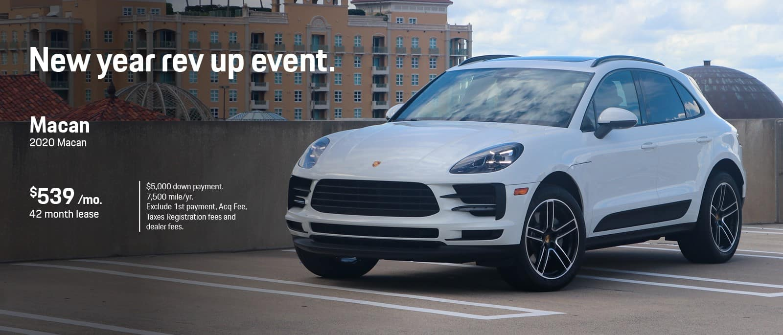 New Year Porsche Macan Lease Special