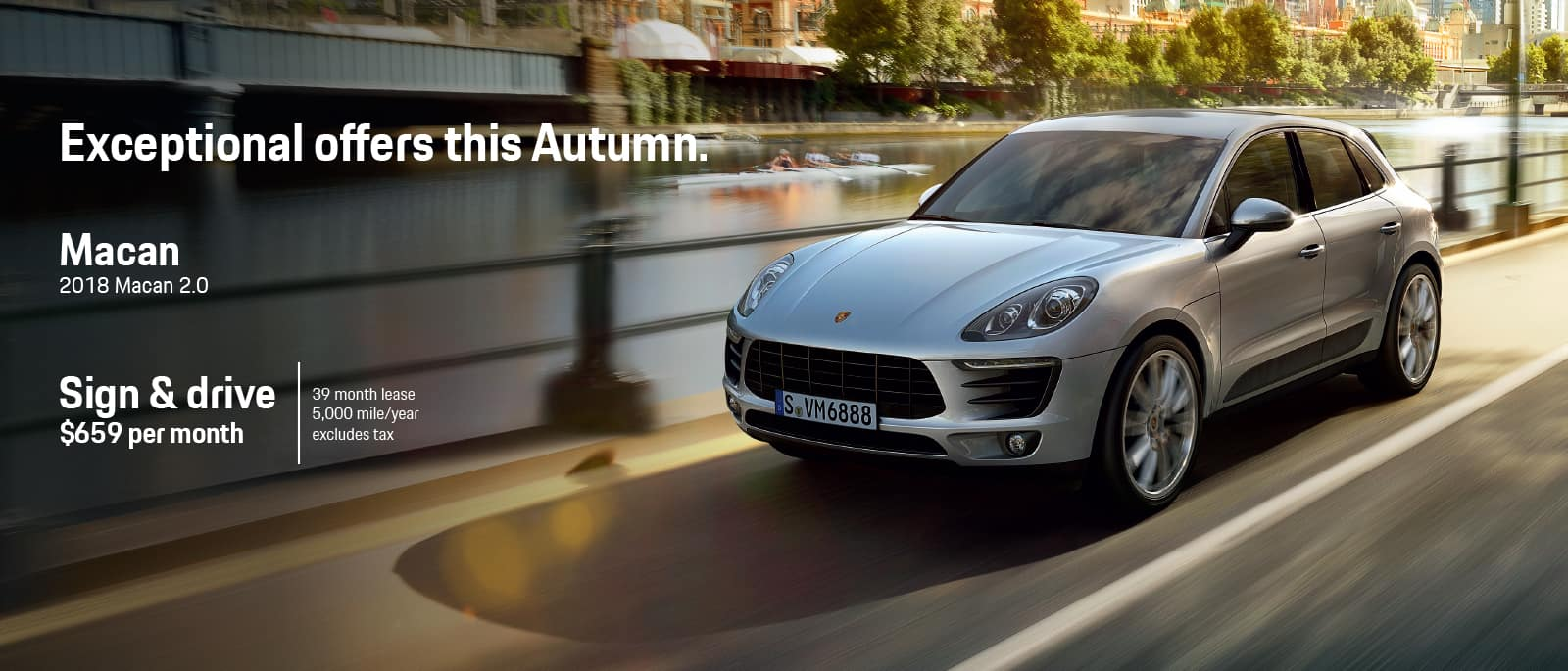 Macan lease offer