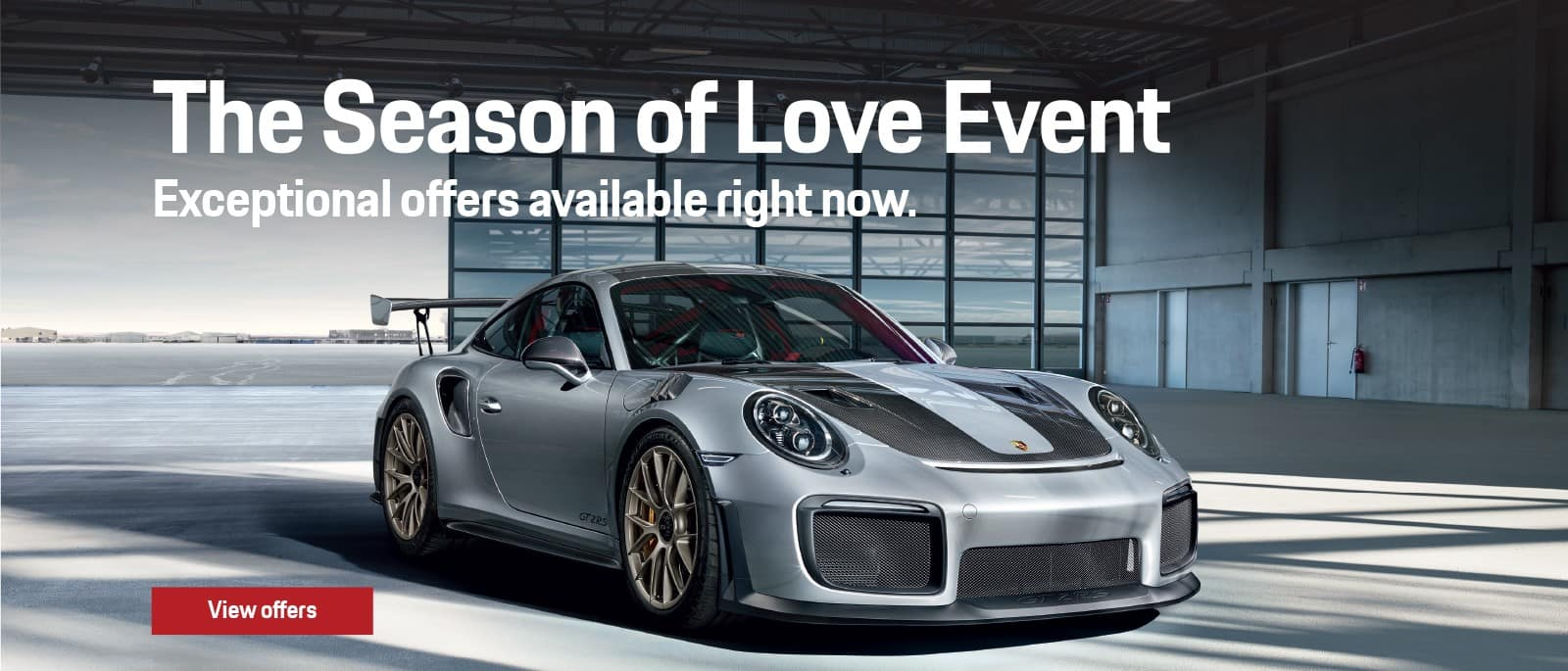 Porsche Season Of Love Sales Event