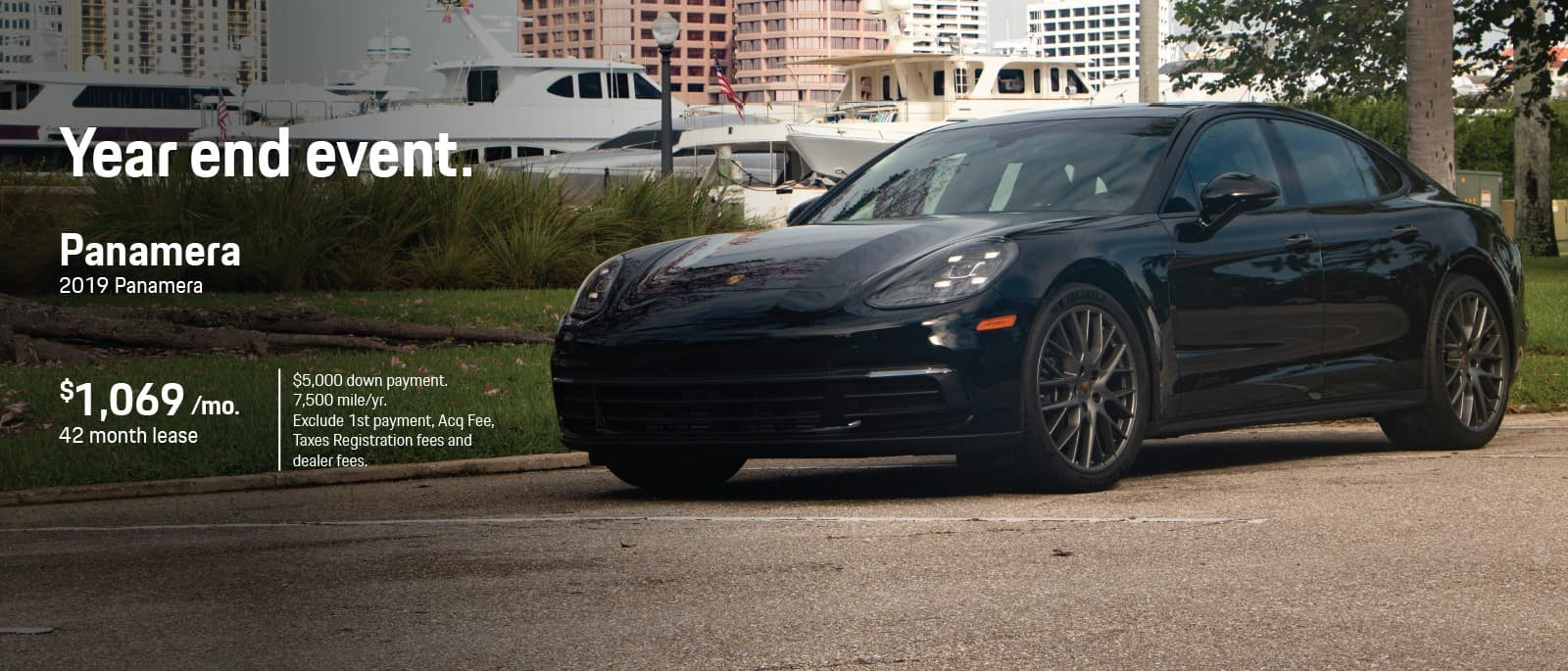 2019 Porsche Panamera Lease In Florida