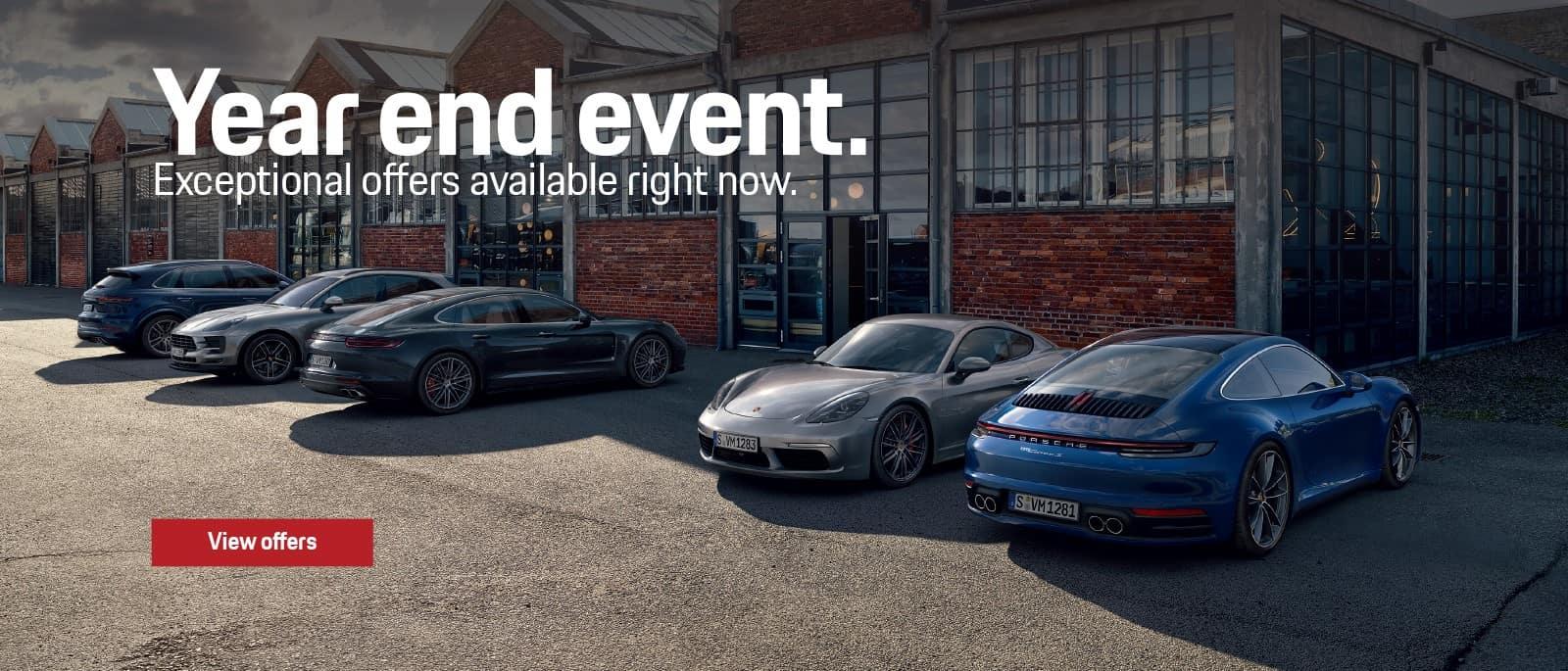 Porsche 2020 Year End Event