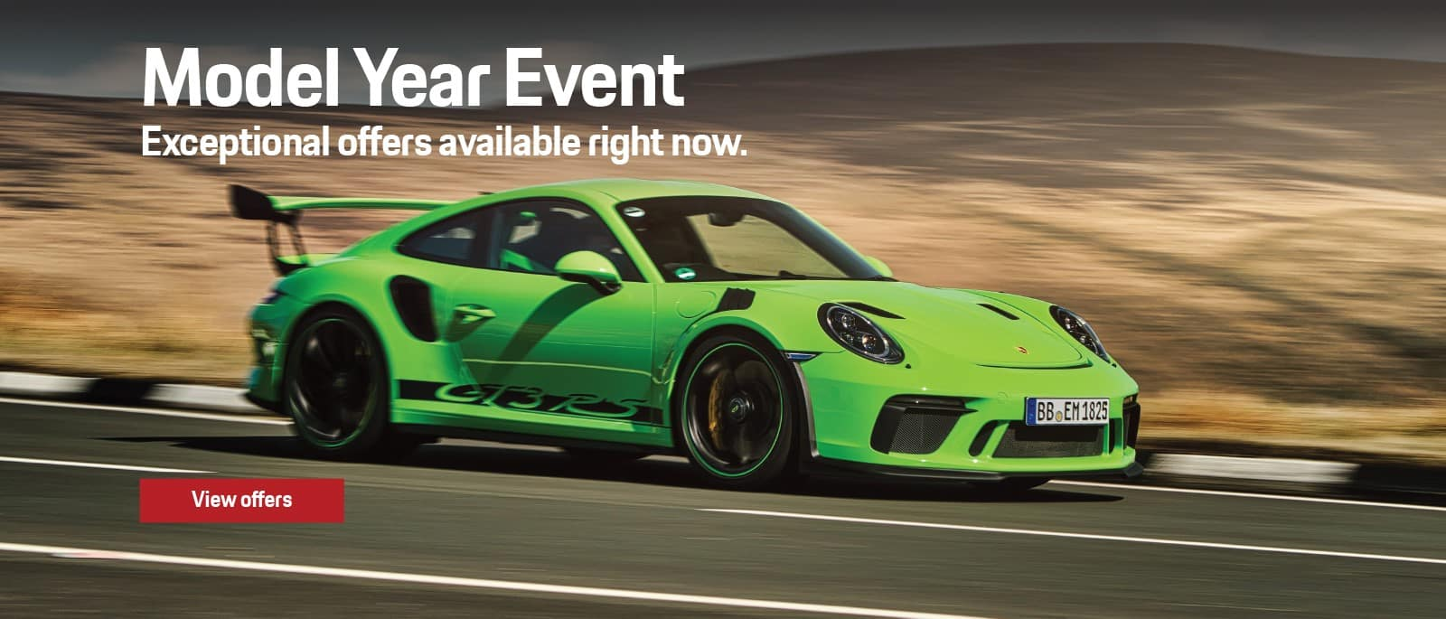 2019 Porsche Model Year End Sale