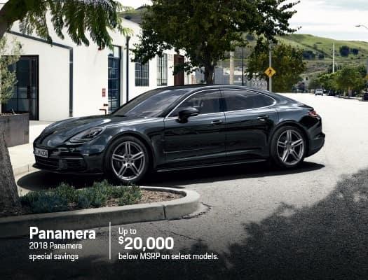 New 2018 Porsche Panamera Models