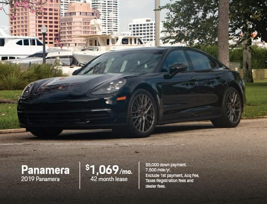 Porsche Panamera Lease >> Current New Porsche Specials Offers Porsche West Palm Beach