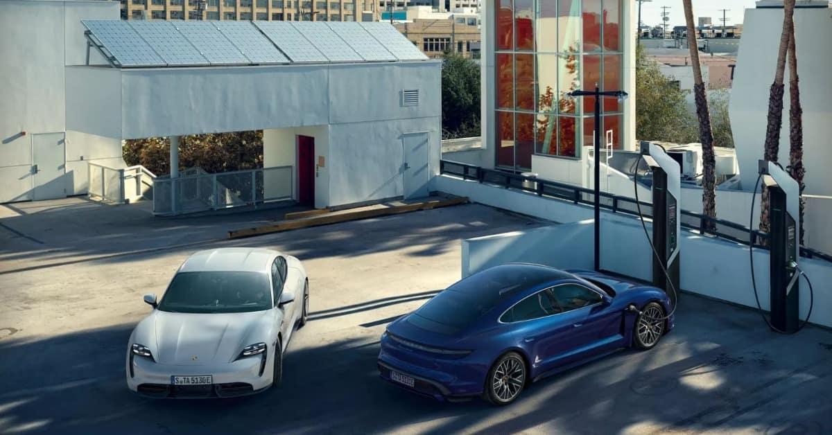 Porsche Taycan Charging Capacity | Porsche Electric Crossover | Porsche West Palm Beach, Florida