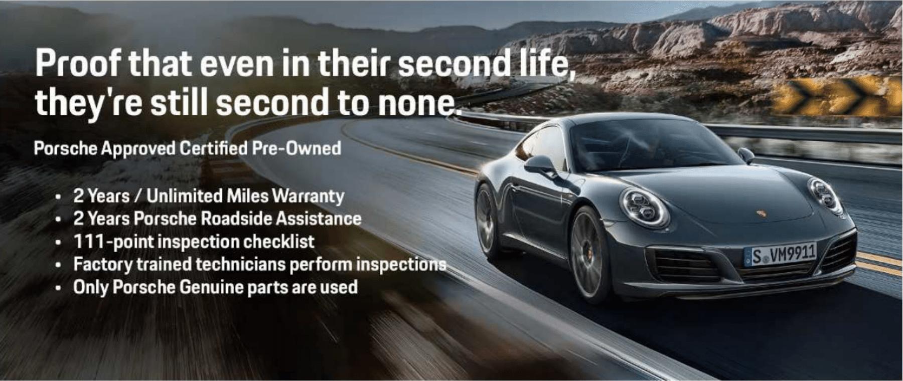 Porsche CPO Inventory