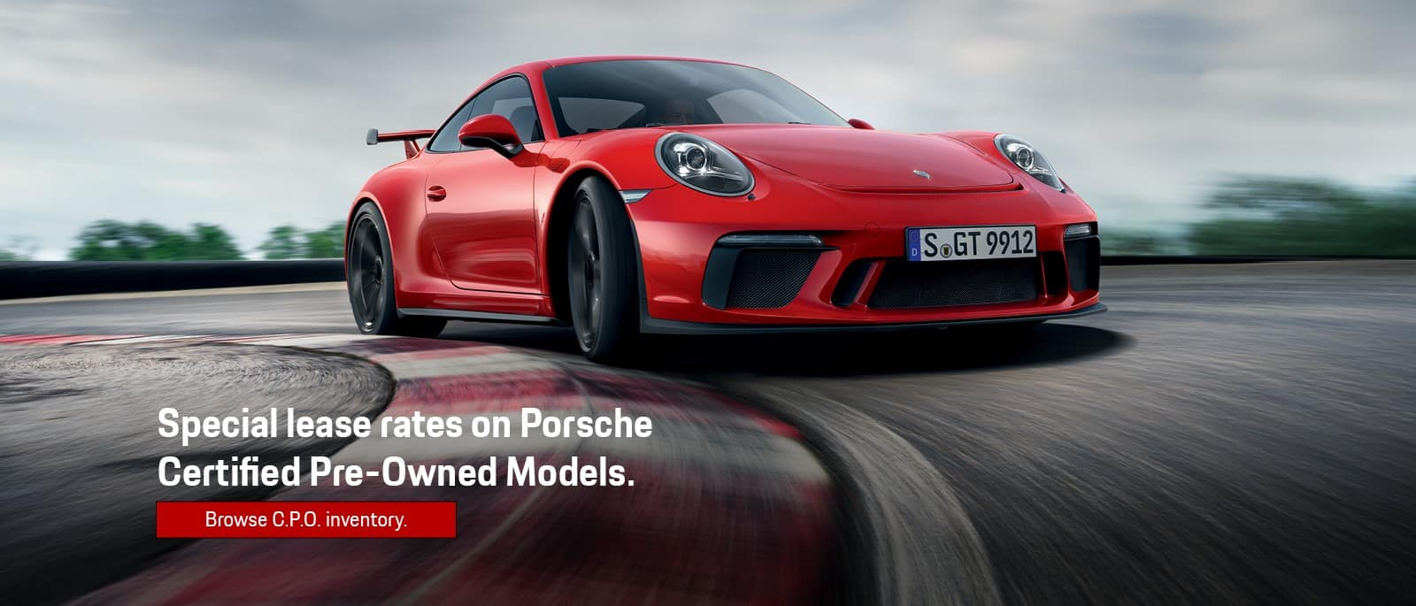 Porsche Certified Pre-Owned Lease Specials