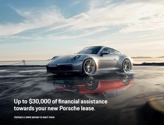 Porsche Financial Assistance Incentive