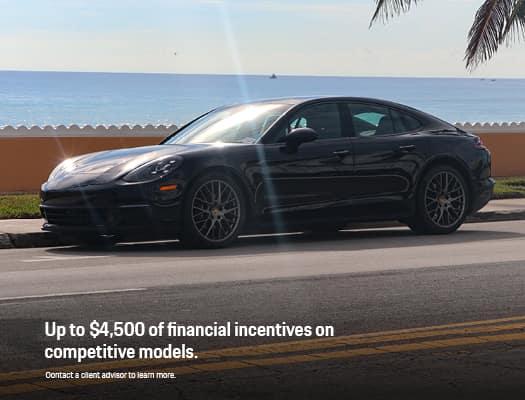 Porsche Competitive Models Incentive