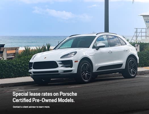 Porsche Lease Rates On CPO Models