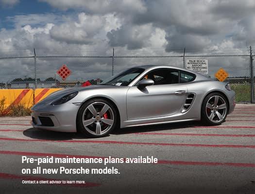 Porsche Pre-Paid Maintenance Incentive