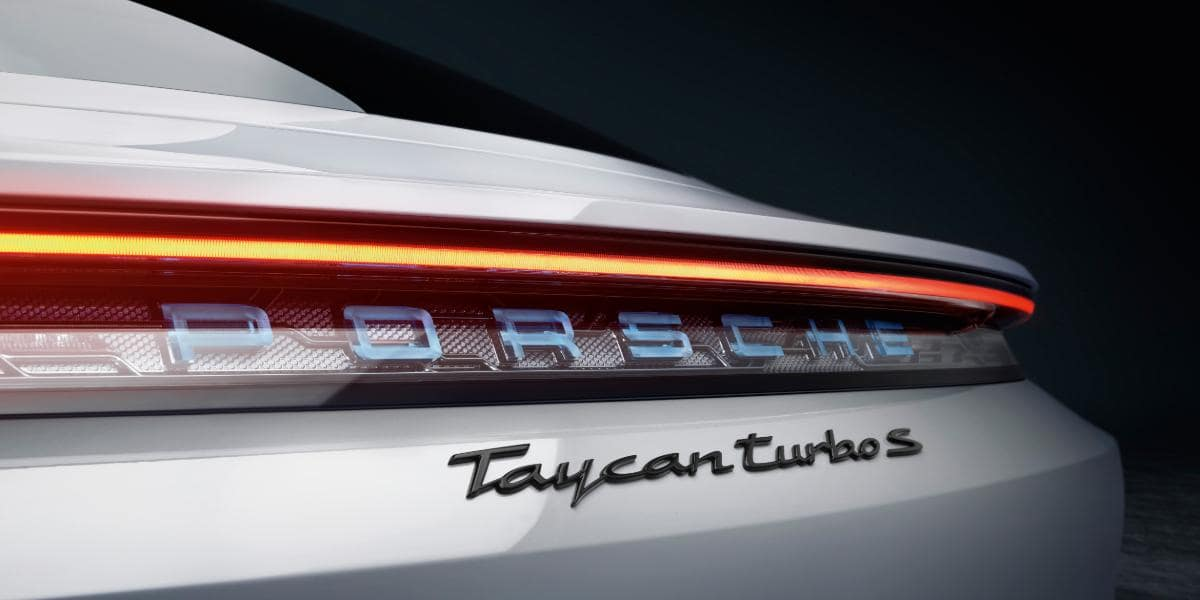 Porsche Taycan production, all-electric car