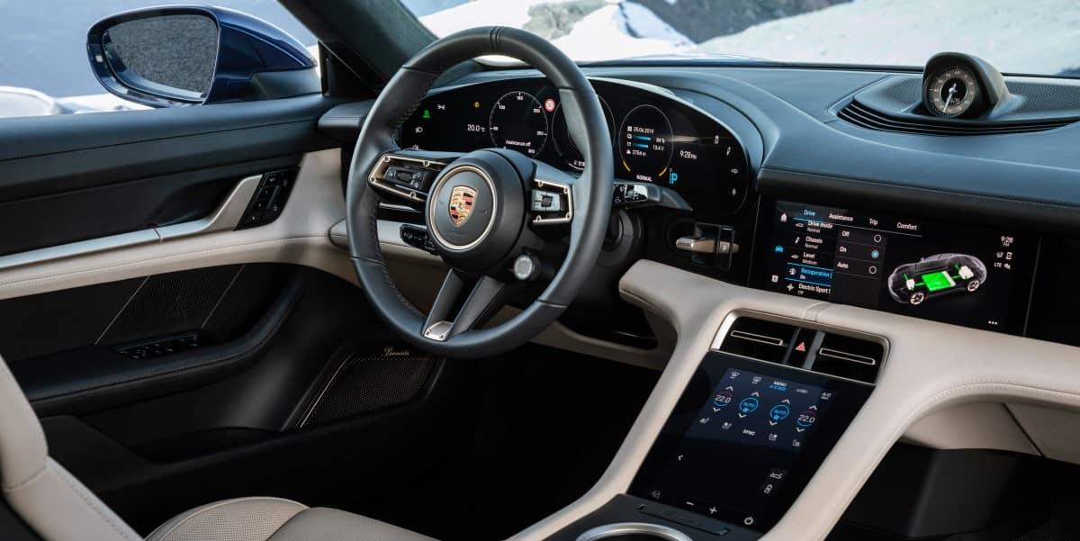 2020 Porsche Taycan interior | Seating capacity | Porsche West Palm Beach, South Florida