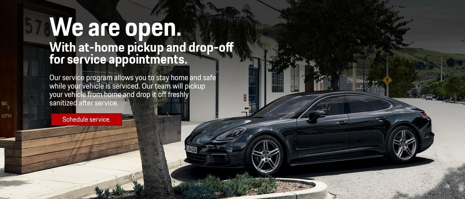 Porsche Schedule Service