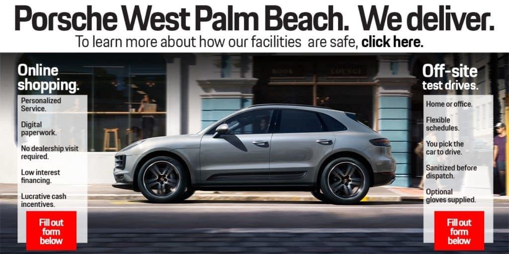 Porsche Home Delivery Service