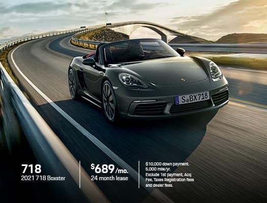 New 2021 Porsche 718 Boxster