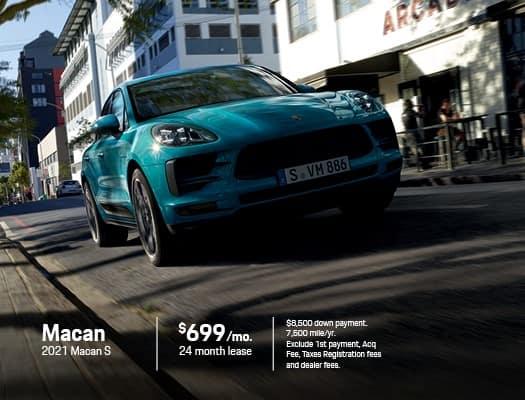 New 2021 Porsche Macan S