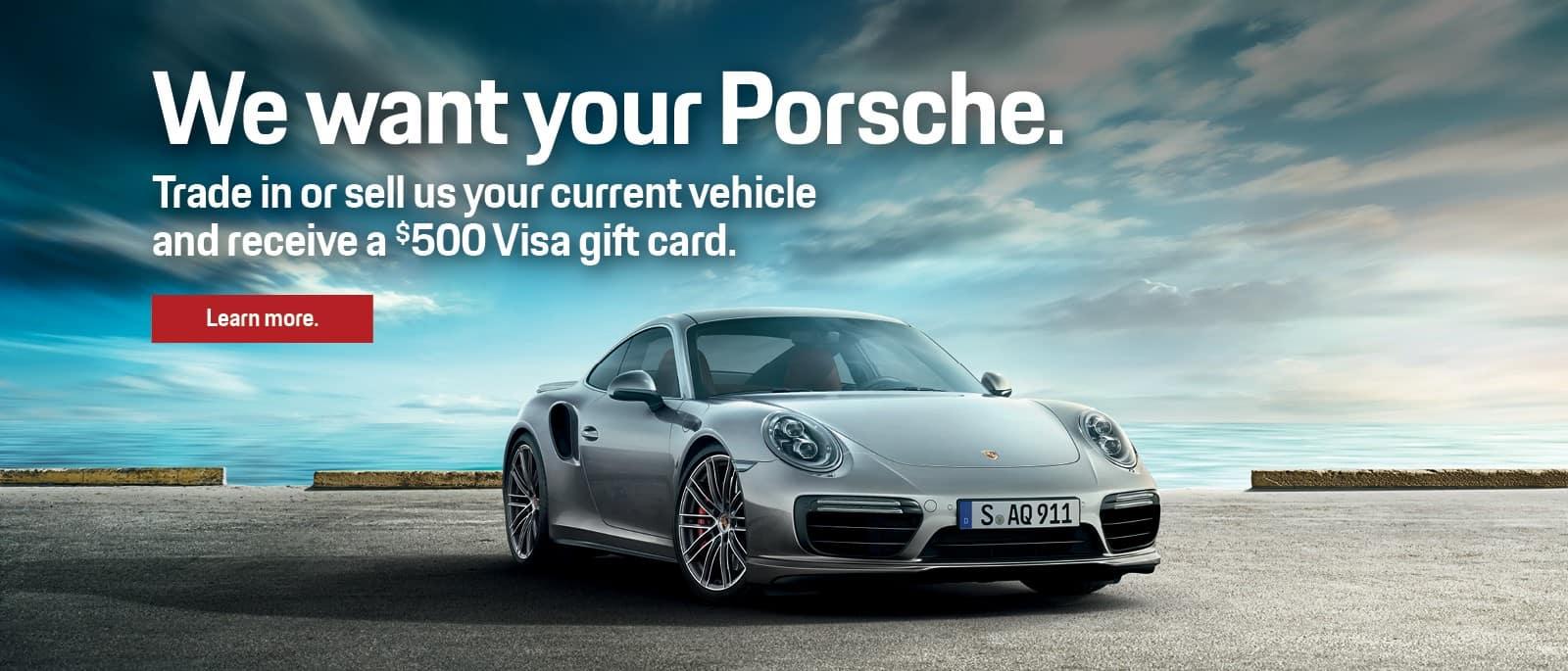 Porsche Trade In Event
