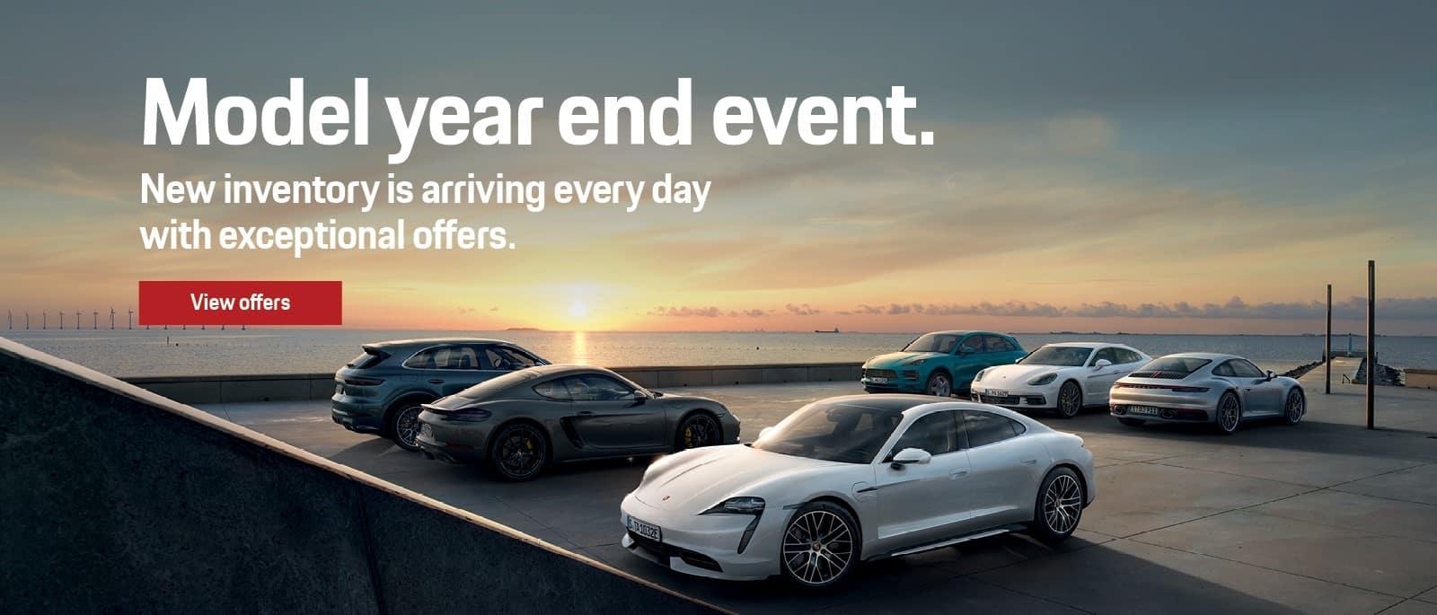 2021 Porsche Model Year End Sales Event