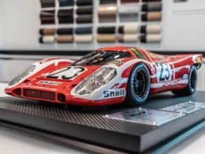 Porsche 917 Salzburg Scale Model Display