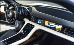 Porsche Taycan Interior Dash