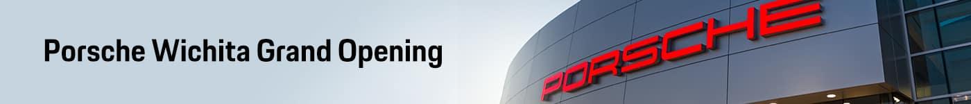 Porsche Grand Opening Event Banner
