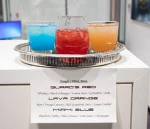 Porsche Themed Cocktails
