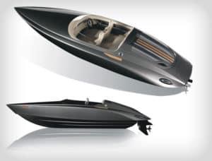 Porsche designed Fearless boat