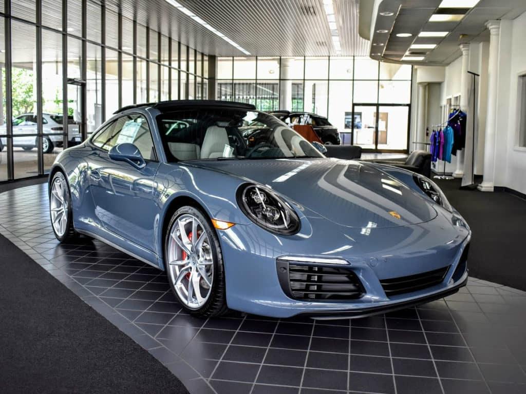 New 2018 Porsche 911 Carrera 4S Coupe