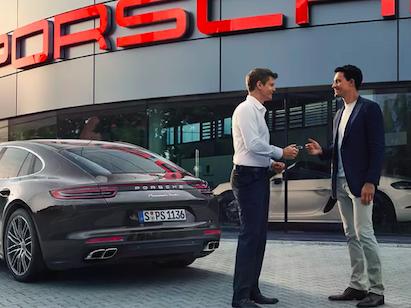 """Welcome to Porsche"" Conquest Lease Program"