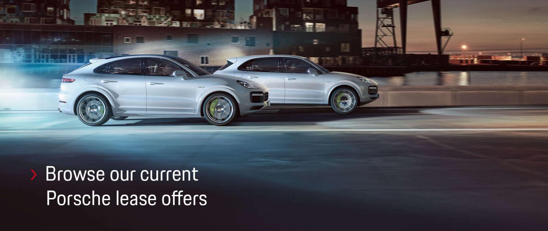 Browse our current Porsche specials