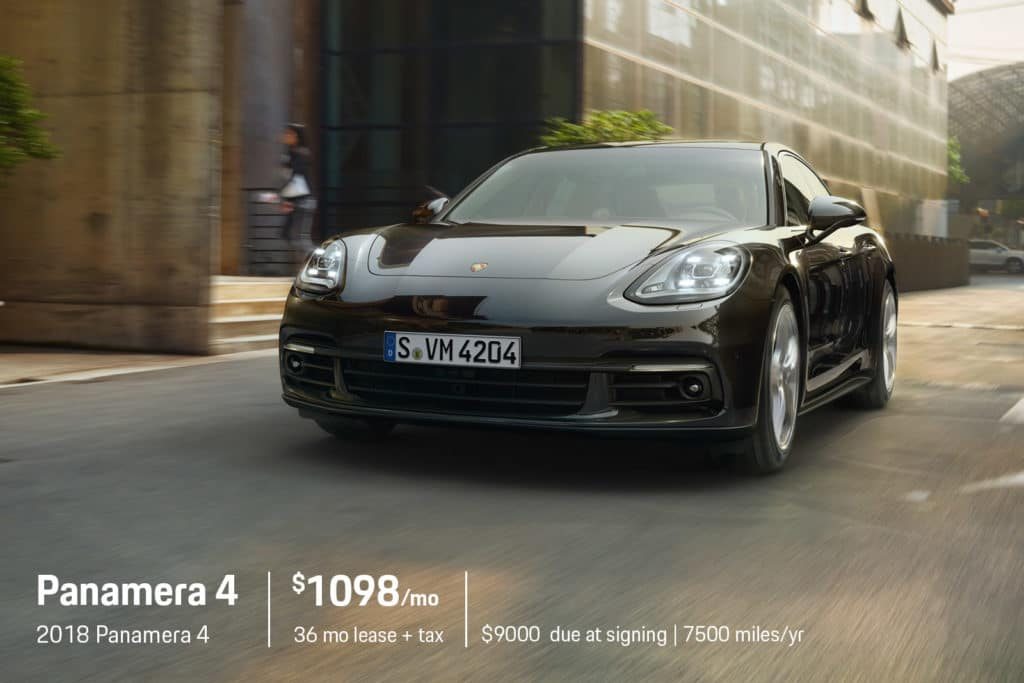 New 2018 Porsche Panamera 4