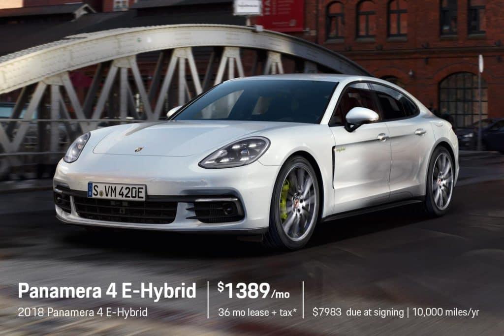 New 2018 Porsche Panamera 4 E-Hybrid