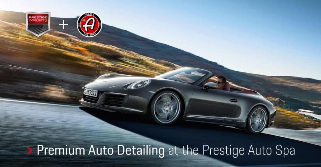 Premium Auto Detailing at the Prestige Auto Spa - Porsche