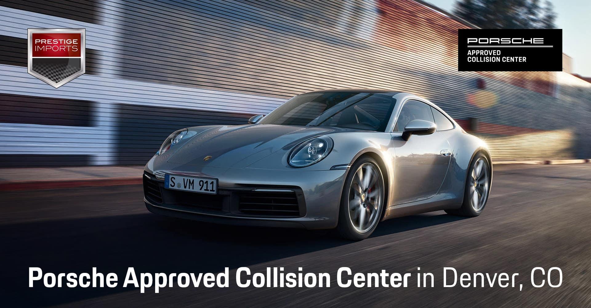 Approved Porsche Body Shop in Denver, CO