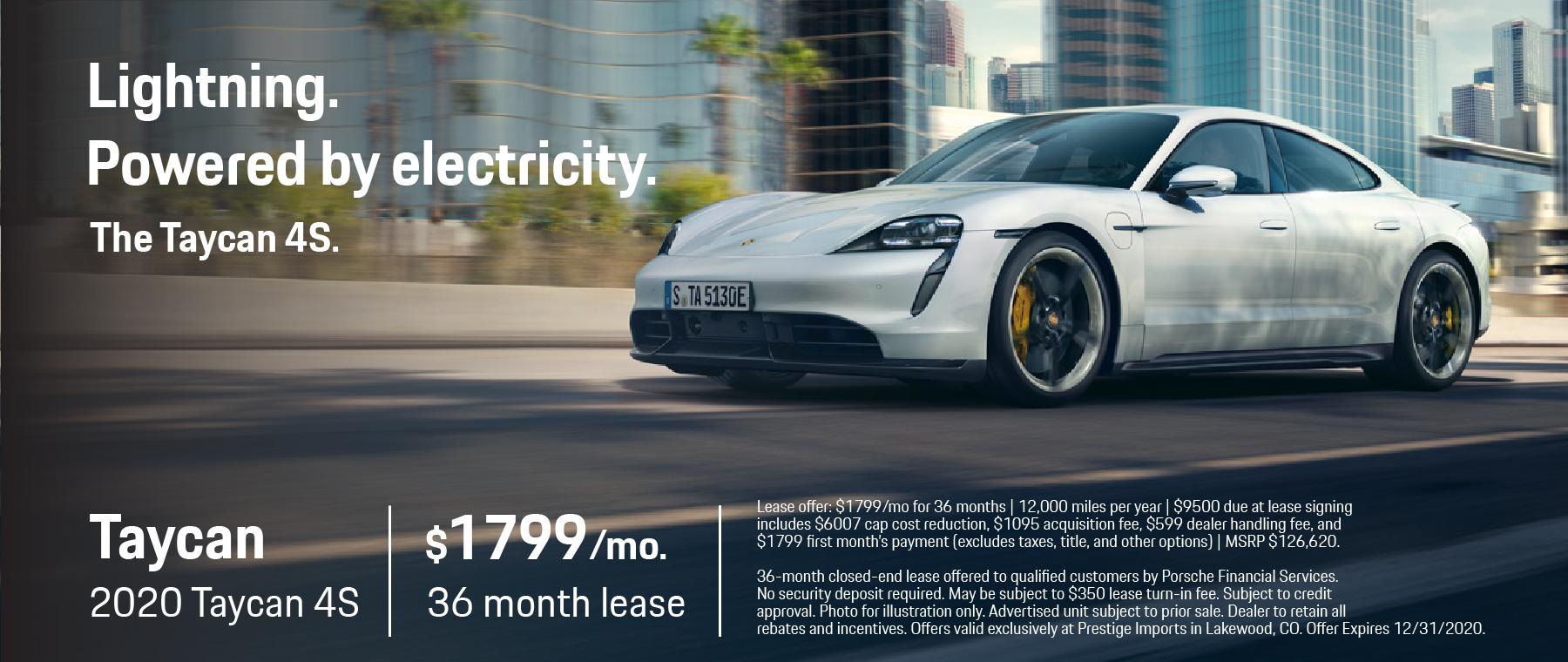 Porsche Prestige Imports – Taycan 4S