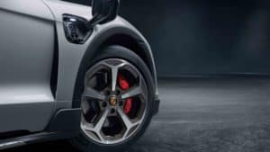 Porsche Taycan Cross Turismo 4S Wheel and Charge Port