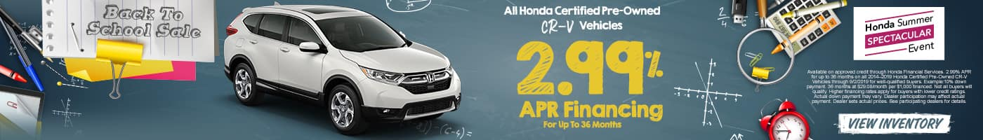 Honda Certified Pre Owned Financing >> Renaldo Honda New Used Honda Dealership In Shelby Nc Near