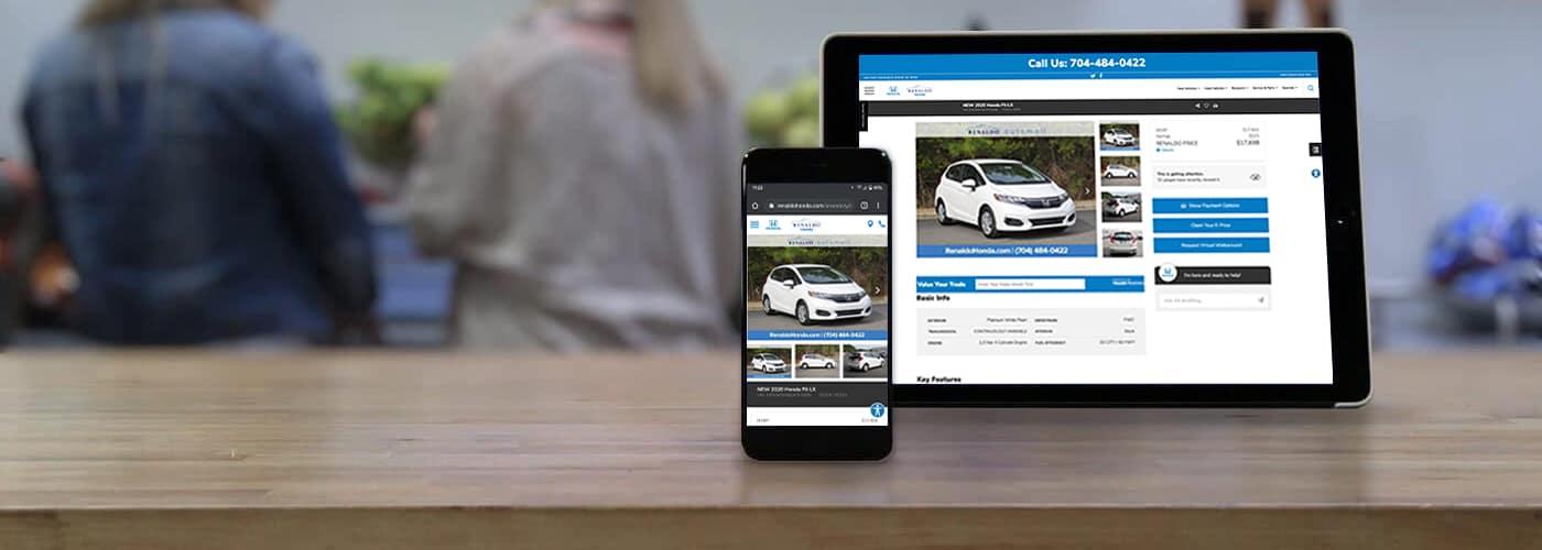Honda Online Shopper banner