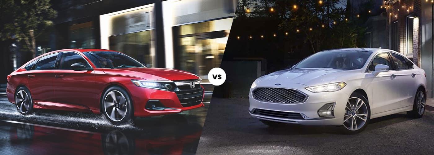 2021 Honda Accord vs. 2020 Ford Fusion