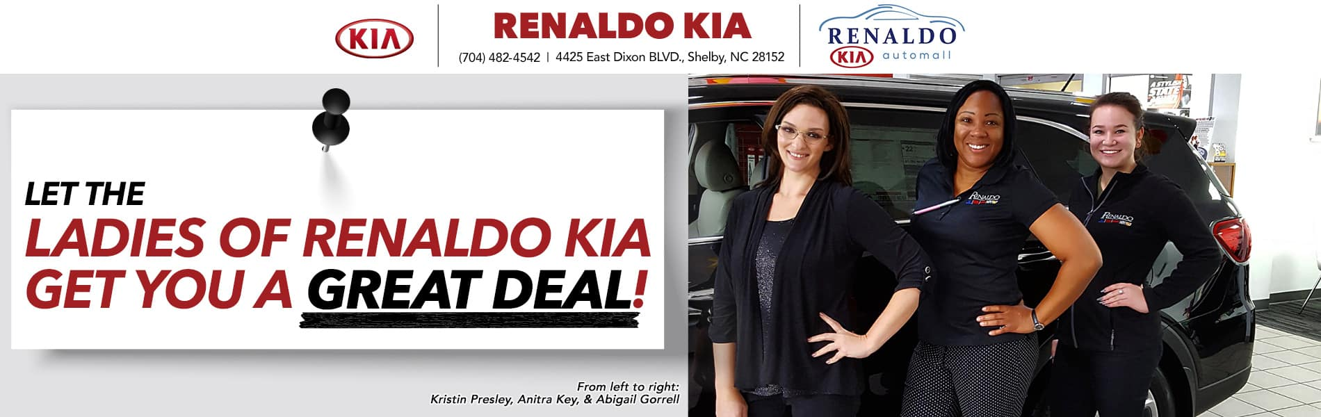 Ladies of Renaldo Kia